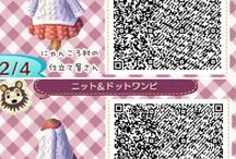 Animal crossing QR code