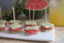 Birthday party food  / by Lacey Spears