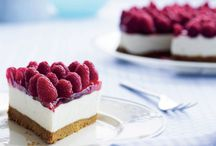 Cheesecake & mousse kager/desserter