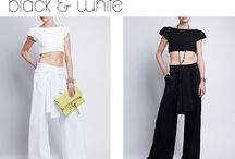 Black & White / #fashion #onlineshopping