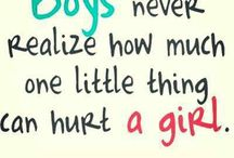 Girly sad true inspirational stuff