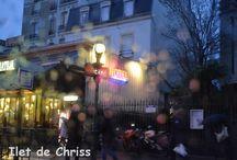 Paris / La ville lumière ! J'y ai vécu quelques années et j'aime toujours cette ville étonnante.