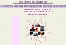 Webquest de Lengua Castellana y Literatura / En esta página recogemos webquest elaboradas por nosotras y por profesores y profesoras asistentes a los cursos sobre Webquest.