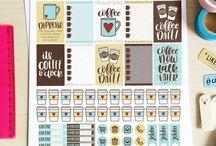 Organization stickers