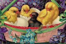 Рисуем цыплят
