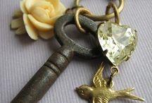 old keys / by Karen Wrai Karn