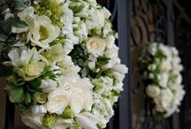 wedding flowers / selection of bouquets, ceremony and reception flowers that I have made