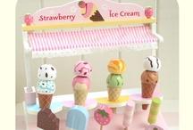 Dessert toys