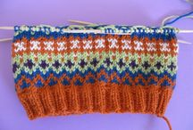 Knitting and crochet / by Gillian Grant