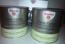 #Alpina Feine Farbe / #Testprodukt #Alpina Feine Farbe