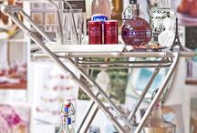 drinks are on me / always searching for the perfect cocktail and bar cart to match