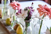 vintage table settings / decoración