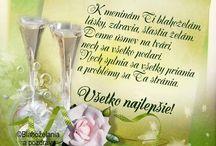 blahoželania