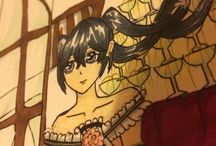 Marina-chan / Young manga artist!