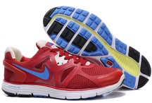 Nike LunarGlide+ 3 Red-Blue