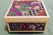Boho scatole