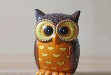 Owl ceramic / Tilsalgs