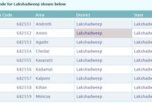 pin code directory Lakshadweep / Lakshadweep pincode number and post office list search by cities, villages, towns, district and locality. Get Lakshadweep city Pincode search, Lakshadweep district pincode directory list on pincodeofindia.in.