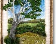 Arbol y paisaje