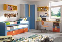 Dormitorios juveniles TEAM / Fotografías de la colección de muebles de dormitorios juveniles TEAM de la firma de muebles LANMOBEL http://www.lanmobel.es/es