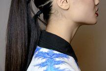 Modern ponytails