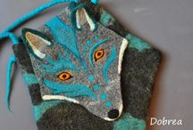 Felted animals / Felted bags, animals and other stuff