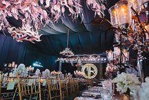 Table Setups (Wedding Reception)