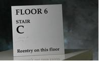 Hospital ADA Signage