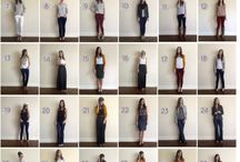Autumn 2015 capsule wardrobe