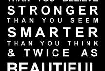 quotes / by Katie Bensen