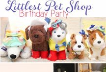 Littlest Pet Shop Party Ideas and more / Little Pet Shop toys are the latest craze so you know your little one will love a party inspired by their favorite figurines!