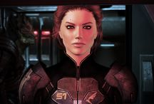 Shepard Commander / [In-game pics only.] The many faces of Commander Shepard, First Human Spectre, Hero of the Citadel, Savior of the Galaxy. This album is constantly in the middle of some calibrations...