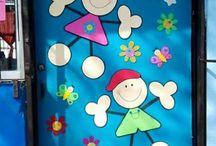 decoración de aulas
