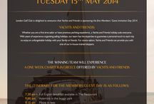 Members Invitation - 13th May 2014 / Sponsored by Yachts and Friends