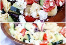 Salad creations / by Tamara Melendez
