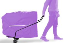 Portacamillas / Accesorios para el transporte de camillas plegables