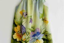 Minden ami selyem - silk painting