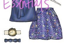 Outfit Illustrations <3 / by Edith Loya