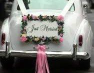 zdobení auta svadebniho