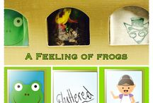 February Box: A Feeling of Frogs / What could possibly be a feeling of frogs? Why that's absurd, I predict you won't believe it...targeting predictions, absurdities, feelings and a springtime twist of ecology and world biomes!