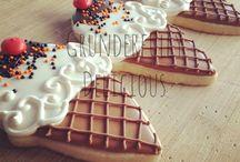 Sugar cookies/ food
