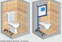 projekt 3x toaleta / Realizacja projektu, materiały + ceny  Dodatkowe zmiany do projektu