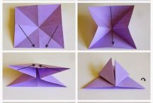 Crafts butterfly origami