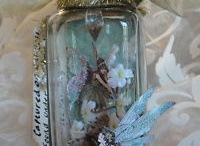 Bottles and Jars Altered Art / by karen Mattison