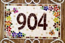 numeros mosaico