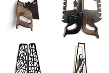 hand saws/ art