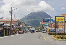 La Fortuna, Costa Rica & Arenal Volcano / La Fortuna, Costa Rica near Arenal Volcano is full of charm and friendly residents, who welcome tourists year-round. Click any pin to get a local travel guide and experience Costa Rica.