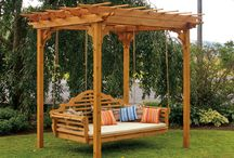 Cedar Outdoor Furniture / Outdoor Amish made cedar furniture for your outdoor patio or lawn - Made in the USA of high quality tight knot red cedar