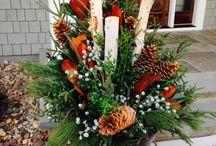 Christmas outdoor arrangements