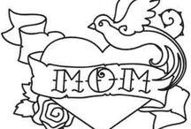 Mom Tattoo / by Hazell Lopez